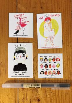 Slinga: Sticker-Set 2
