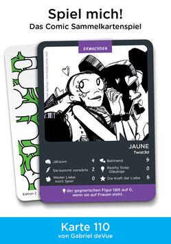 """Spielkarte """"Jaune"""""""