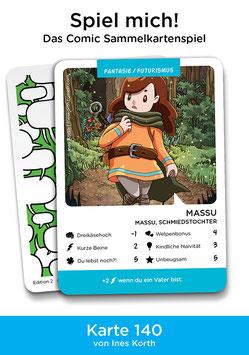 """Spielkarte """"Massu"""""""