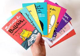 """Postkarten-Set """"Dicke Katze"""""""