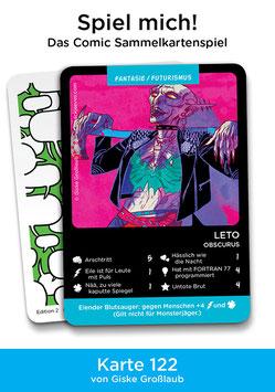 "Spielkarte ""Leto"""