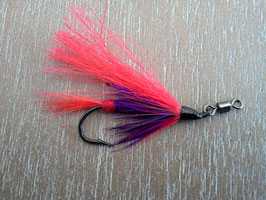 Mouche a Saumon  modele  Red Schrimp rolling