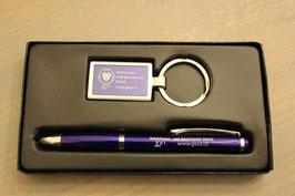 Kugelschreiber und Schlüsselanhänger