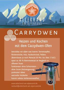 Carrydwen-Holzvergaserofen