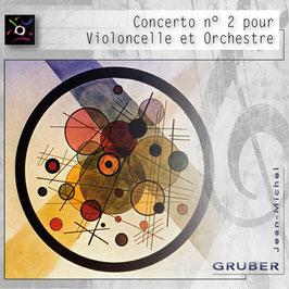 Concerto n° 2 pour Violoncelle et Orchestre avec Choeur en Fa dièse mineur