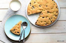 Heidelbeer-Mandelkuchen