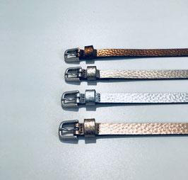 Gürtel Vanzetti metallic