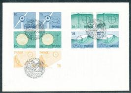 1096-1100 Ersttagsbrief FDC (SE)