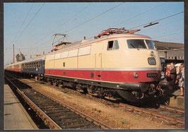 """Postkarte """"elektrische Schnellzuglokomotive E 03 002"""" (PK-Eisenbahn-0001)"""