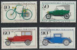 BERL 660-663 gestempelt (2)