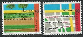 CH 1616-1617  postfrisch