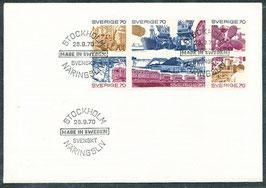 683-688 Ersttagsbrief (SE)