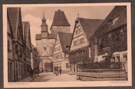 91541   (W-8808)   Rothenburg o.T.   -Rödergasse-   (PK-00092)