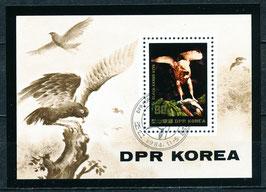 Block 1789-2521  gestempelt (KP-Vögel)