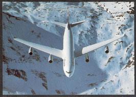 "Postkarte ""Airbus A340-200""  (PK-Flugzeug-0006)"