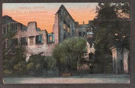 691..  (W-6900)   Heidelberg   -Schloßhof; Erker des Bibliothekbaus-   (PK-00039)