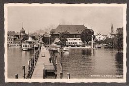 7846.   (W-7750)    Konstanz  a-B.   -Hafen u. Konzil-   ((PK-00047)