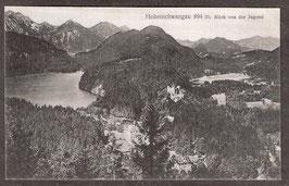 87645   (W-8959)   Hohenschwangau   -Blick von der Jugend-