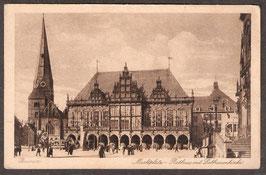 28...  (W-2800)   Bremen  -Marktplatz, Rathaus und Liebfrauenkirche-  (PK-00005)
