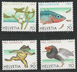 CH 1629-1632  postfrisch
