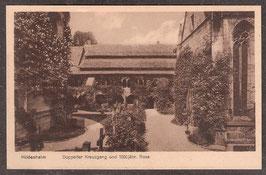 311..   (W-3200)   Hildesheim    -Doppelter Kreuzgang und 1000 jähr. Rose-   (PK-00256)