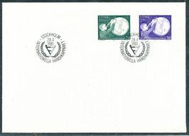1143-1144 Ersttagsbrief (SE)