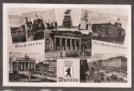 1...   (W-1000;  O-1...)    Berlin   -Gruß aus der Reichshauptstadt-    (PK-00368)