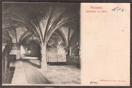 01662   (O-8250; O-8251)   Meißen   -Sakristei im Dom-   (PK-00067)