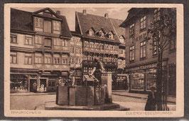 381..   (W-3300)    Braunschweig   -Eulenspiegelbrunne-   (PK-00153)