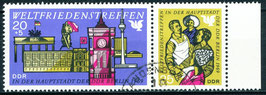 1478-1479 philat. Stempel Zusammendruck (DDR)