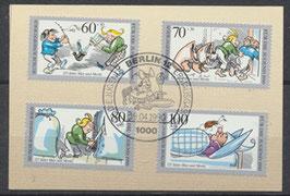 BERL 868-871  gestempelt mit Ersttagsonderstempel