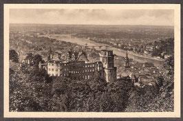 691..    (W-6900)    Heidelberg    -Schloß und Stadt Heidelberg-   (PK-00214)