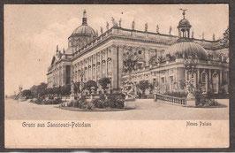 144..   (O-15..)   Potsdam   -Sanssouci Neus Palais-   (PK-00076)