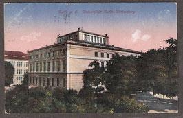 06...   (O-40..)   Halle a. S.   -Universität Halle-Wittenberg-   (PK-00262)