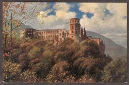 691..   (W-6900)   Heidelberg   -Das Schloss von der Terasse gesehen-   (PK-00402)