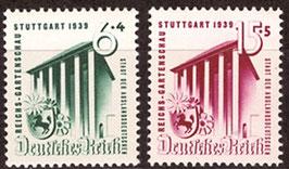 DR 692-693 postfrisch