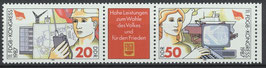 3086-3087 postfrisch Dreierstreifen (DDR)