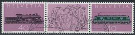 CH 1214-1215 gestempelt Dreierstreifen (1)