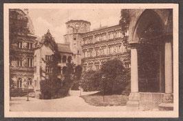 691...   (W-6900)   Heidelberg   -Der Schloßhof-    (PK-00274)