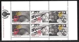 NL Block 20; 1147-1150 postfrisch