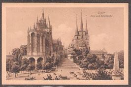 990.   (O-5010)   Erfurt   -Dom und Severikirche-    (PK-00437)