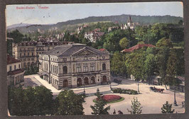 765..  (W-7570)  Baden-Baden  -Theater-  (PK-00014)
