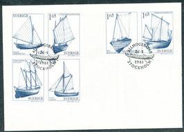 1152-1157 Ersttagsbrief (SE)