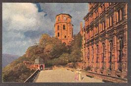 691..   (W-6900)   Heidelberg    -Der Schloßaltan-   (PK-00234)