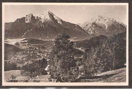 83471  (W-8240)  Berchtesgaden  -mit Watzmann und Hochkalter-  (PK-00007)