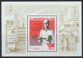 DDR Block 83     3013 postfrisch