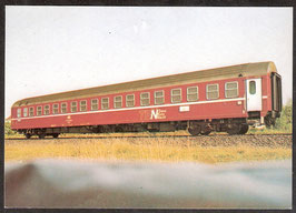 """Postkarte """"Schlafwagen""""  (PK-Eisenbahn-0005)"""