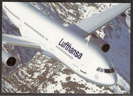 "Postkarte ""Airbus A340-200"" (PK-Flugzeug-0011)"