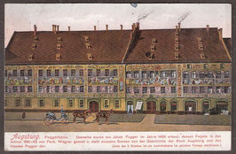 861..   (W-8900)   Augsburg   -Fuggerhaus-   (PK-00202)