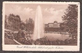 341...   (W-3500)    Kassel    -Wilhelmshöhe Schloß mit großer Fontaine-   (PK-00196)